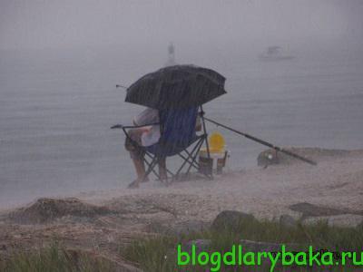 Ну и шестая причина - погода для рыбалки