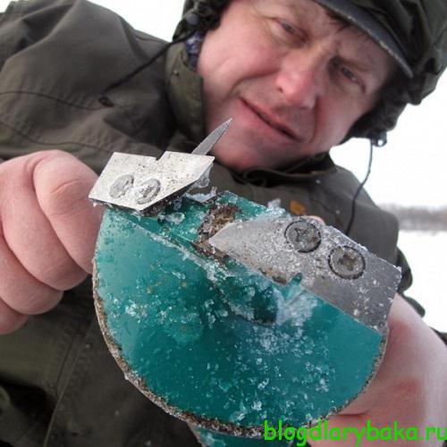 Как заточить ножи ледобура своими руками