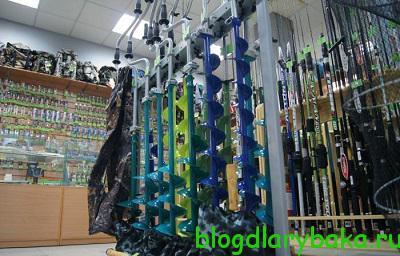 Как выбрать хороший ледобур для зимней рыбалки