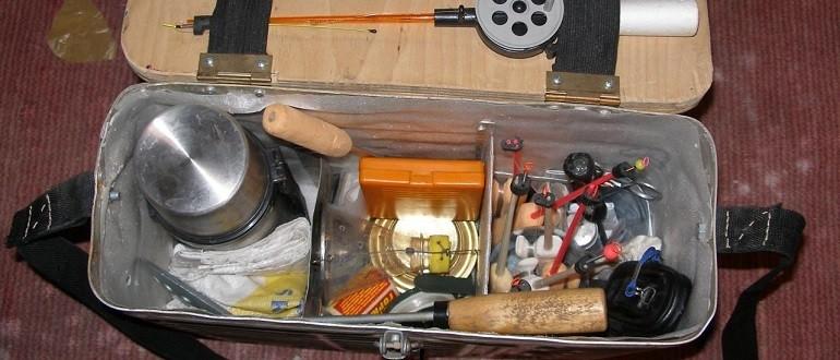 Как правильно выбрать рыболовный ящик для зимней рыбалки