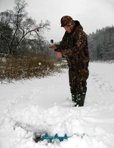 Ставим жерлицы для ловли