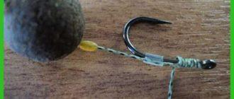 Поводки для ловли карпа